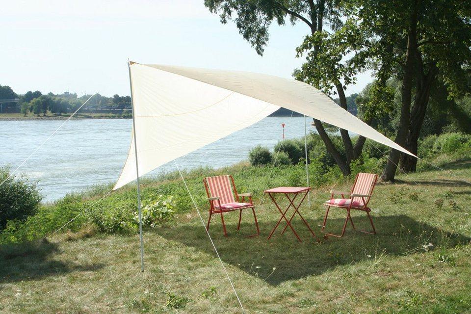 Sonnensegel »Camping - Vierecksonnensegel« 4x4m in weiß