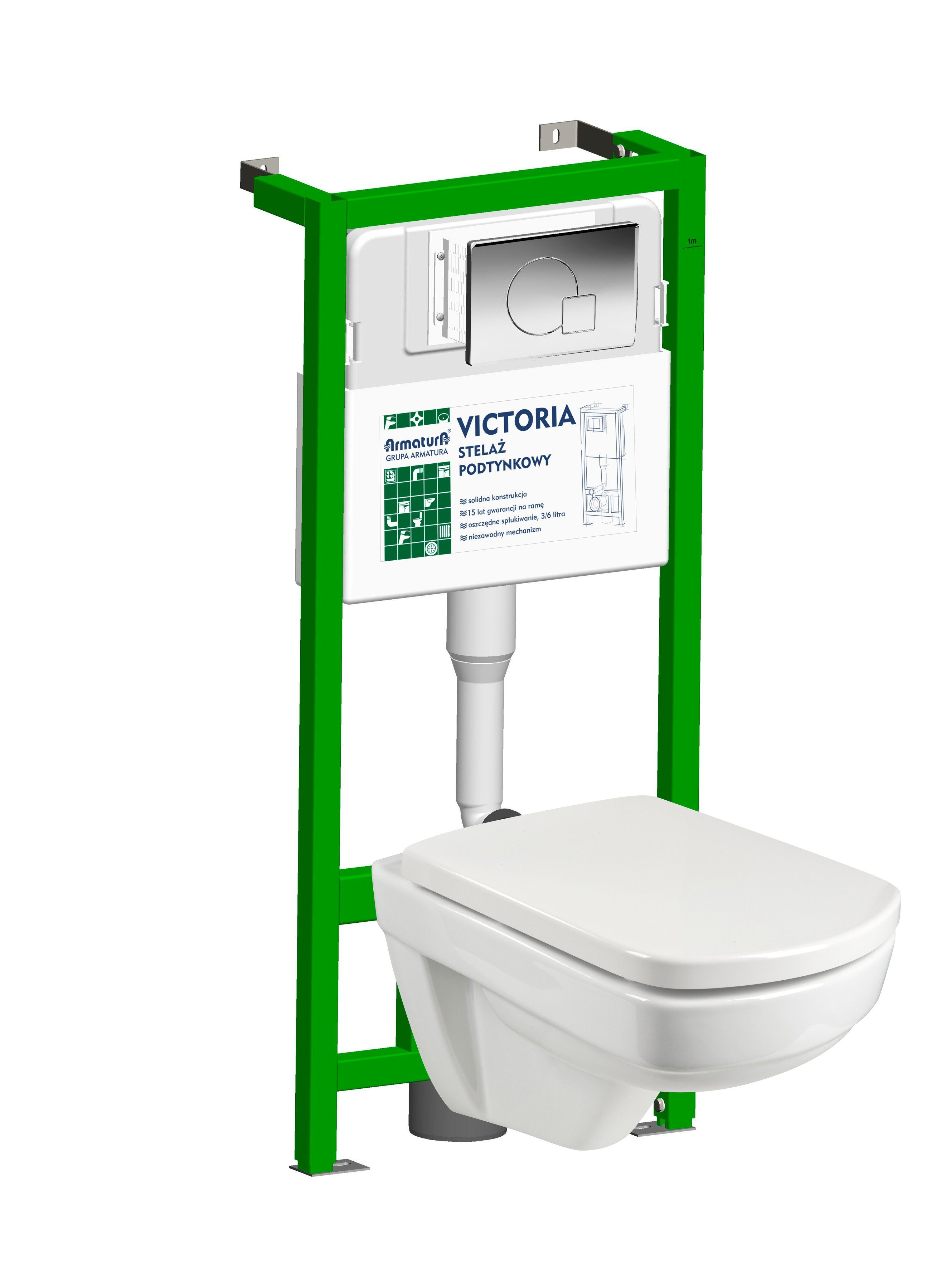 Komplett-Set: Wand WC »Mero Complete«