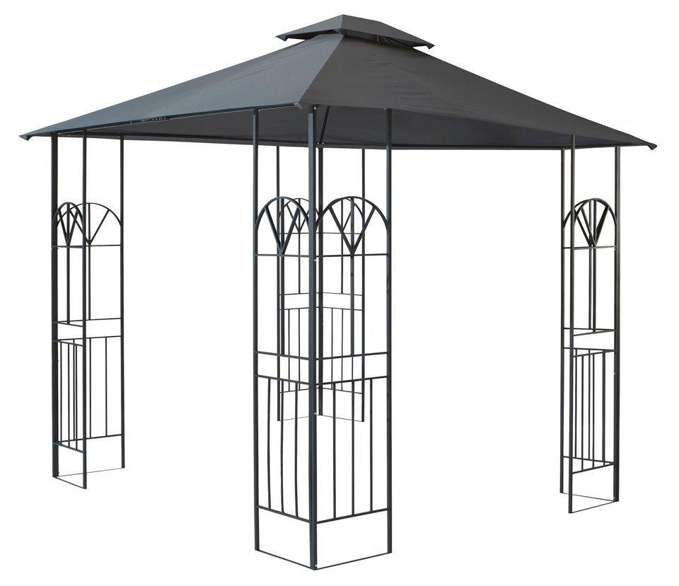 Ersatzdach für Pavillon »Zier« anthrazit in hellgrau