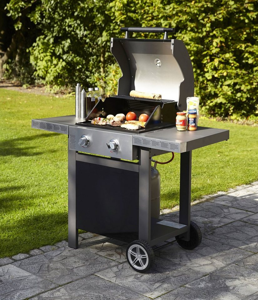 Jamie oliver gasgrill bbq home 2 online kaufen otto - Barbecue jamie oliver ...