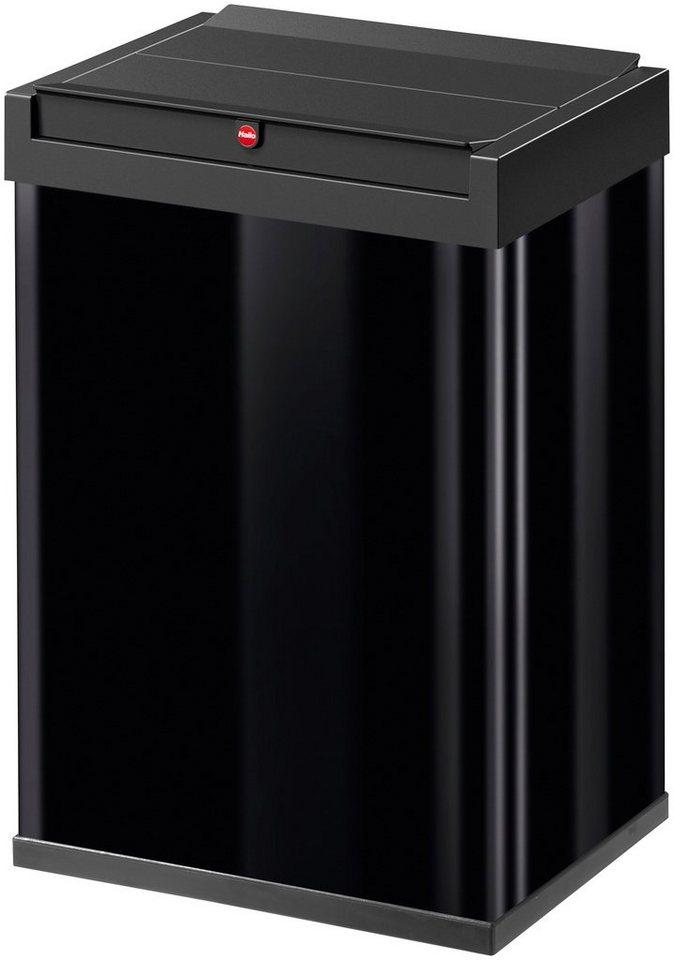 Großraum-Abfalleimer »Big-Box 40« in schwarz