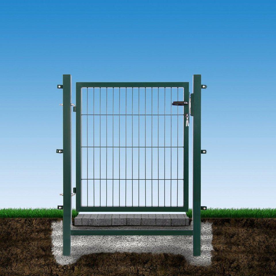 Gartentor »Easy Tor Einflügelig« für Stabmatten, (BxH): 100x100 cm