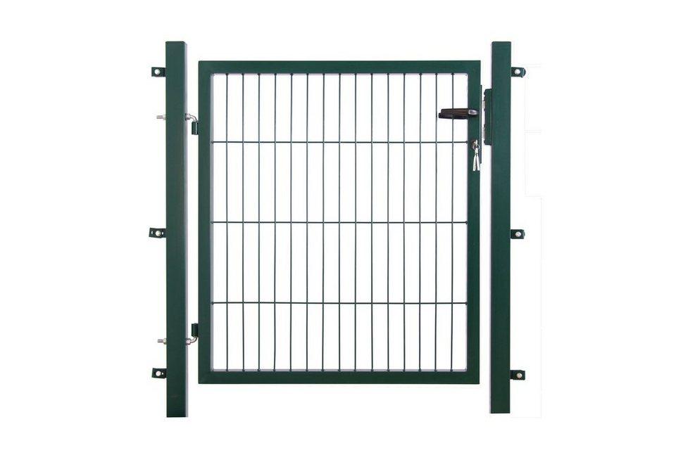 Zaun-Einzeltür für Einzelstabmatte anthrazit, Breite: 100 cm (in 3 Höhen)