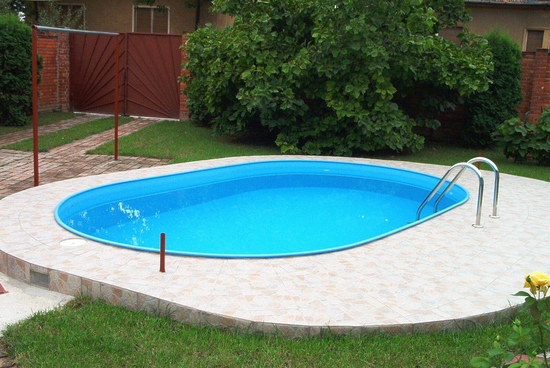 MYPOOL Ovalpool , LxBxH: 600 x 320 x 110 cm, 7-tlg.