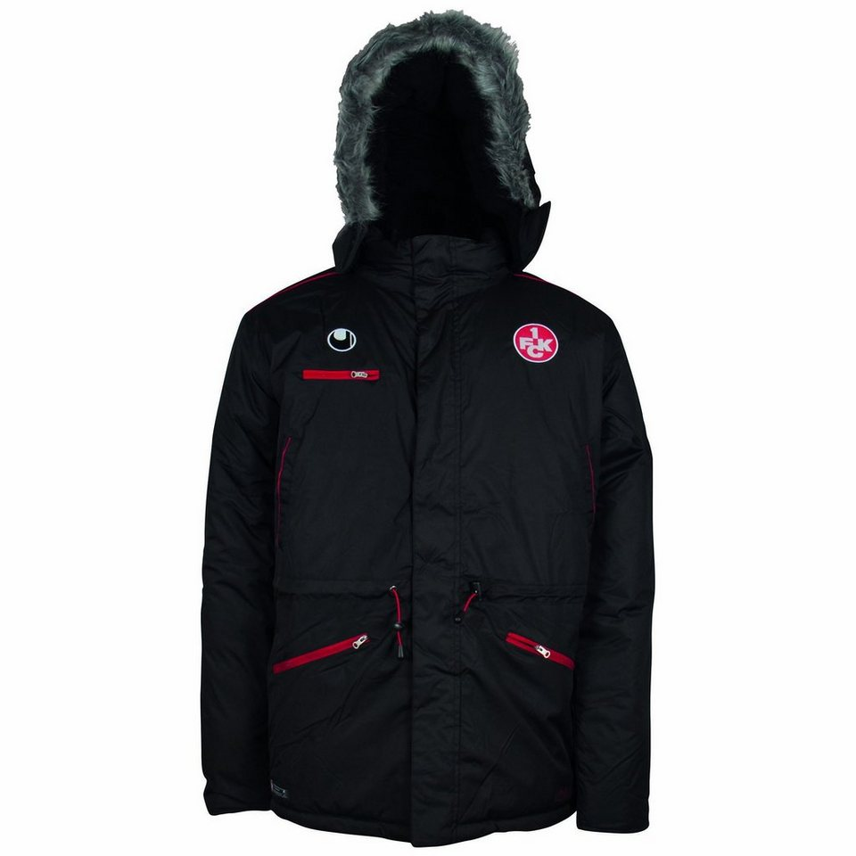 UHLSPORT FCK Winterjacke Kinder in schwarz / chili