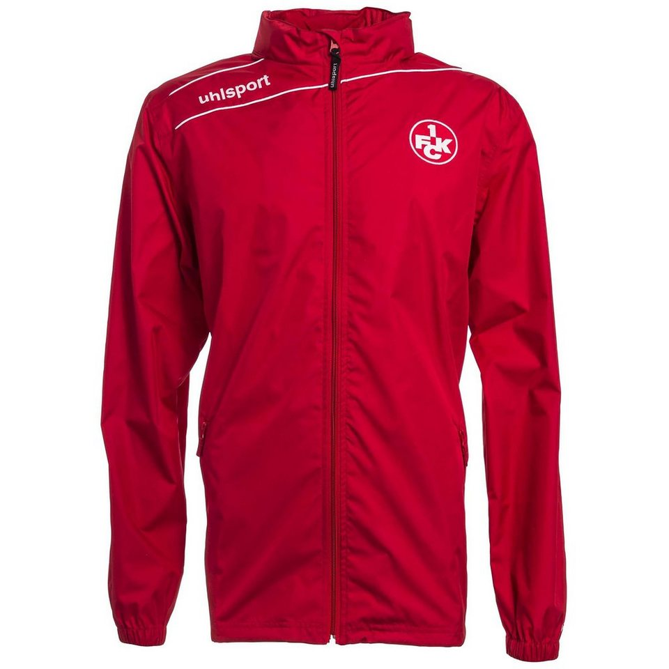 UHLSPORT FCK STREAM 3.0 Regenjacke 15/16 Kinder in chilirot / weiß