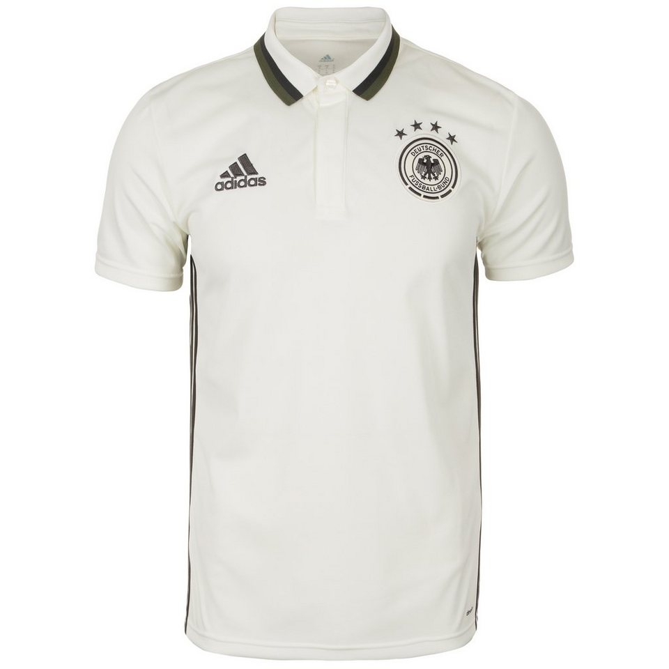 adidas Performance DFB Staff Poloshirt EM 2016 Herren in weiß