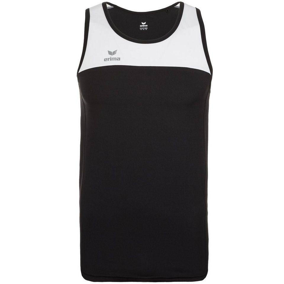 ERIMA Race Line Running Singlet Herren in schwarz/weiß