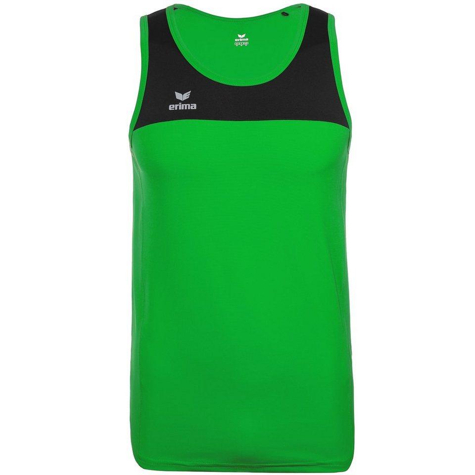 ERIMA Race Line Running Singlet Herren in green/schwarz