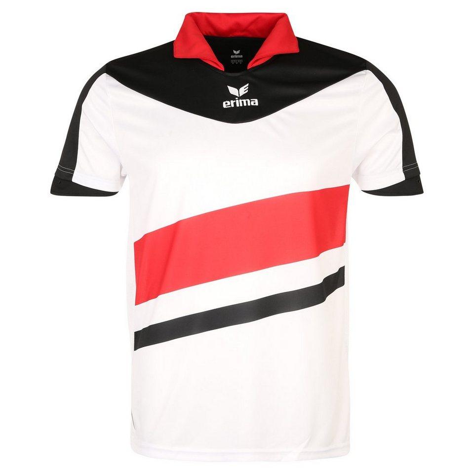ERIMA Madrid Trikot Herren in weiß/schwarz/rot