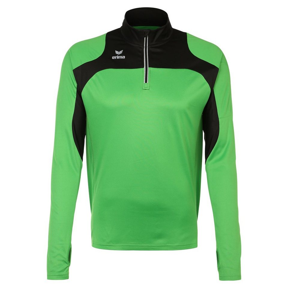 ERIMA Race Line Running Longsleeve Herren in green/schwarz