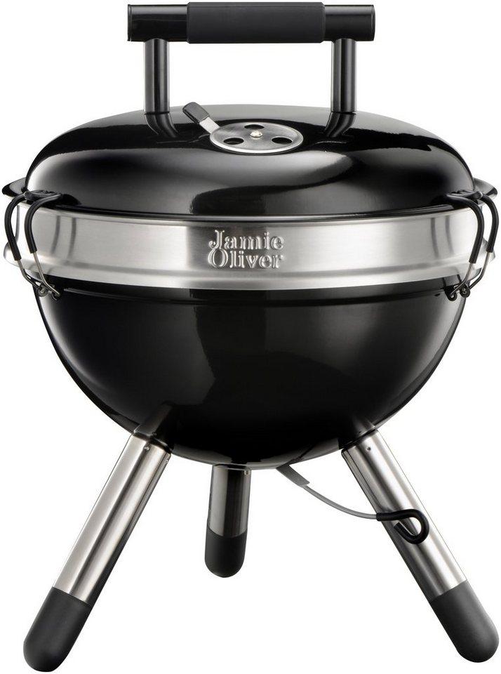 Holzkohlegrill »JAMIE OLIVER Park BBQ Charcoal Black« in schwarz
