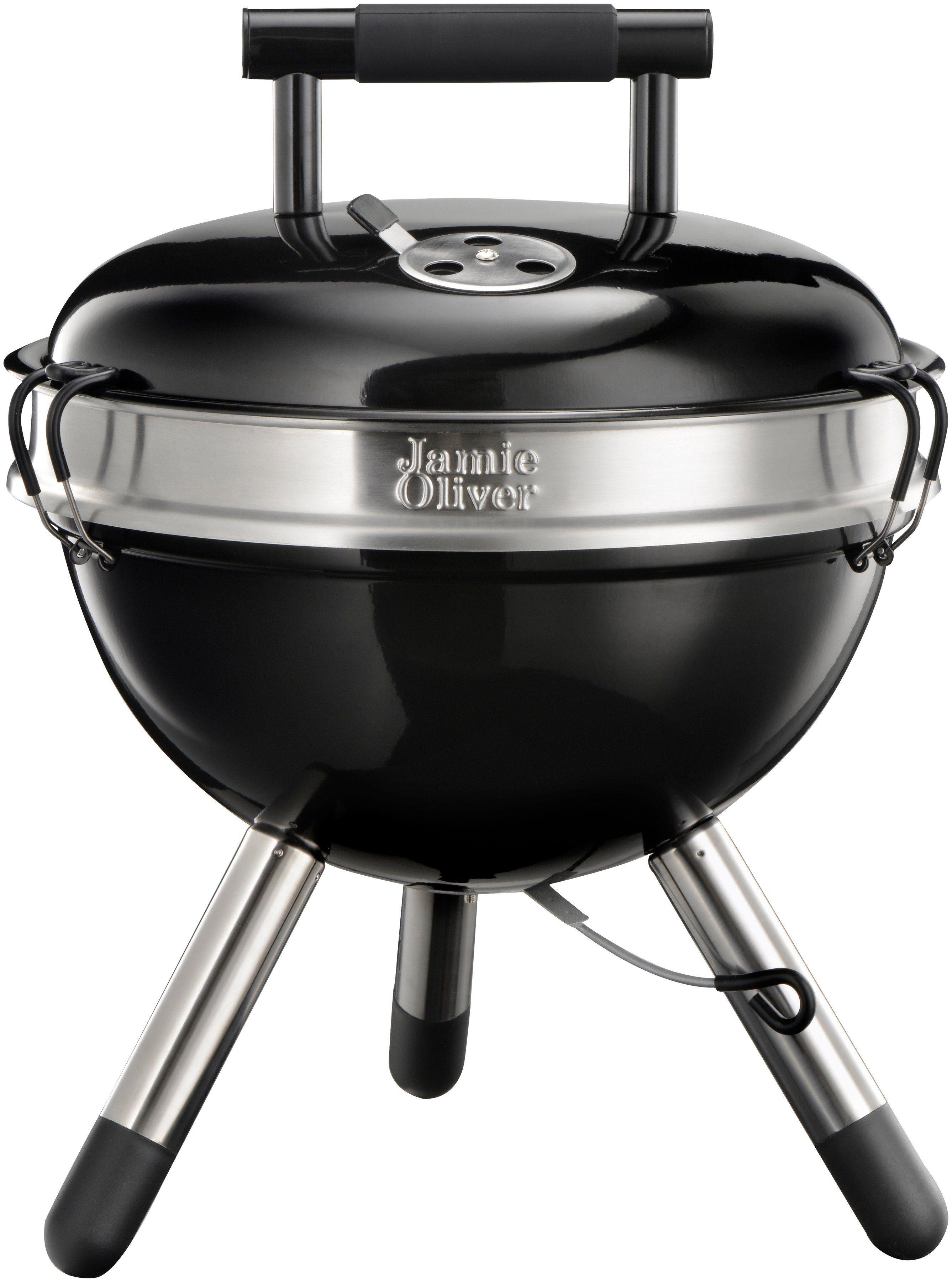 Holzkohlegrill »JAMIE OLIVER Park BBQ Charcoal Black«