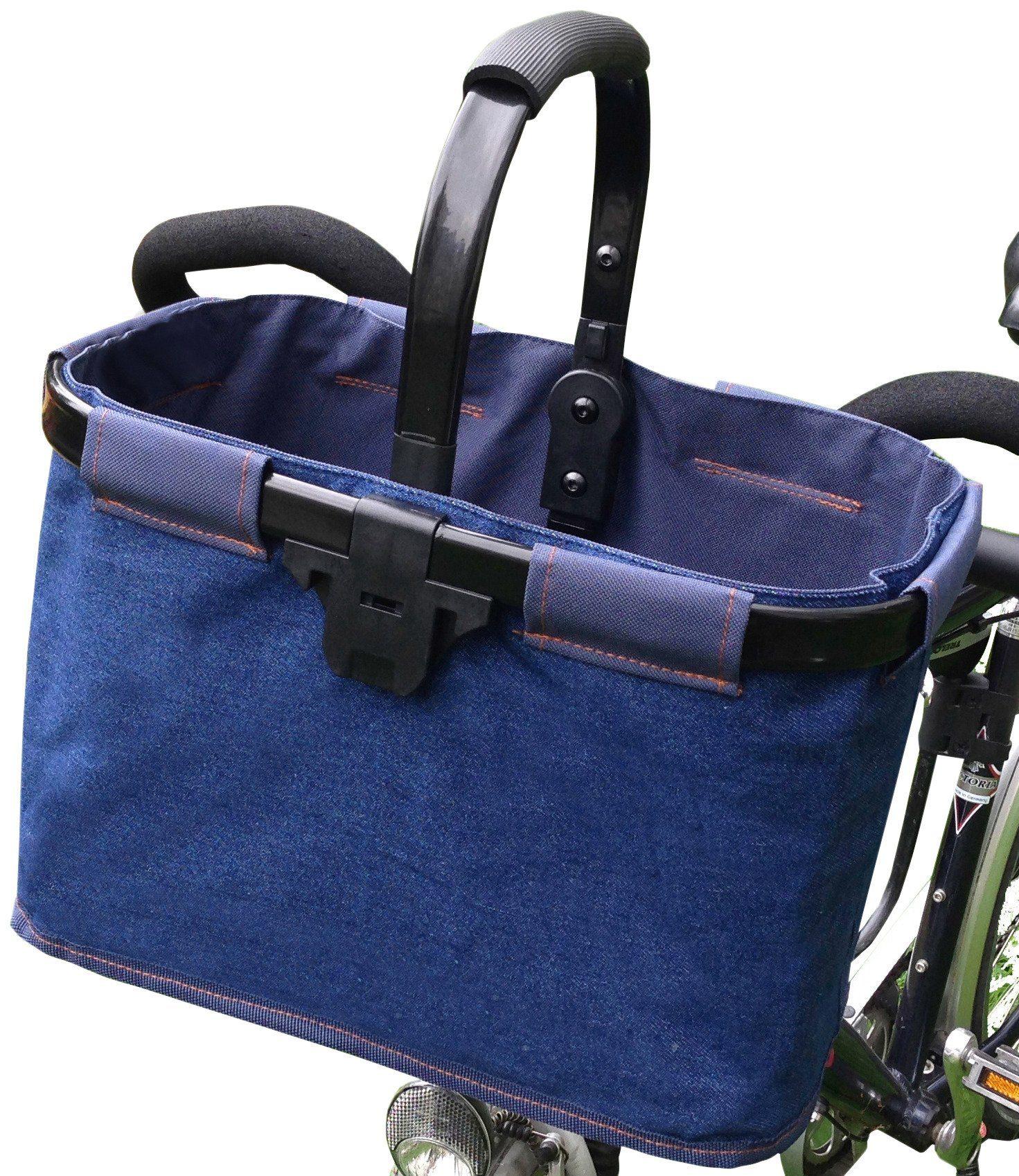 Fahrradkorb »Bike-Shopper Jeans«