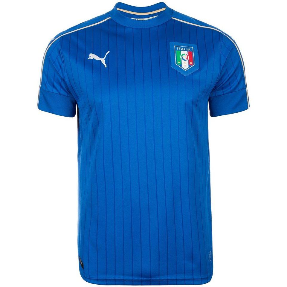 PUMA Italien Trikot Home EM 2016 Herren in blau / weiß