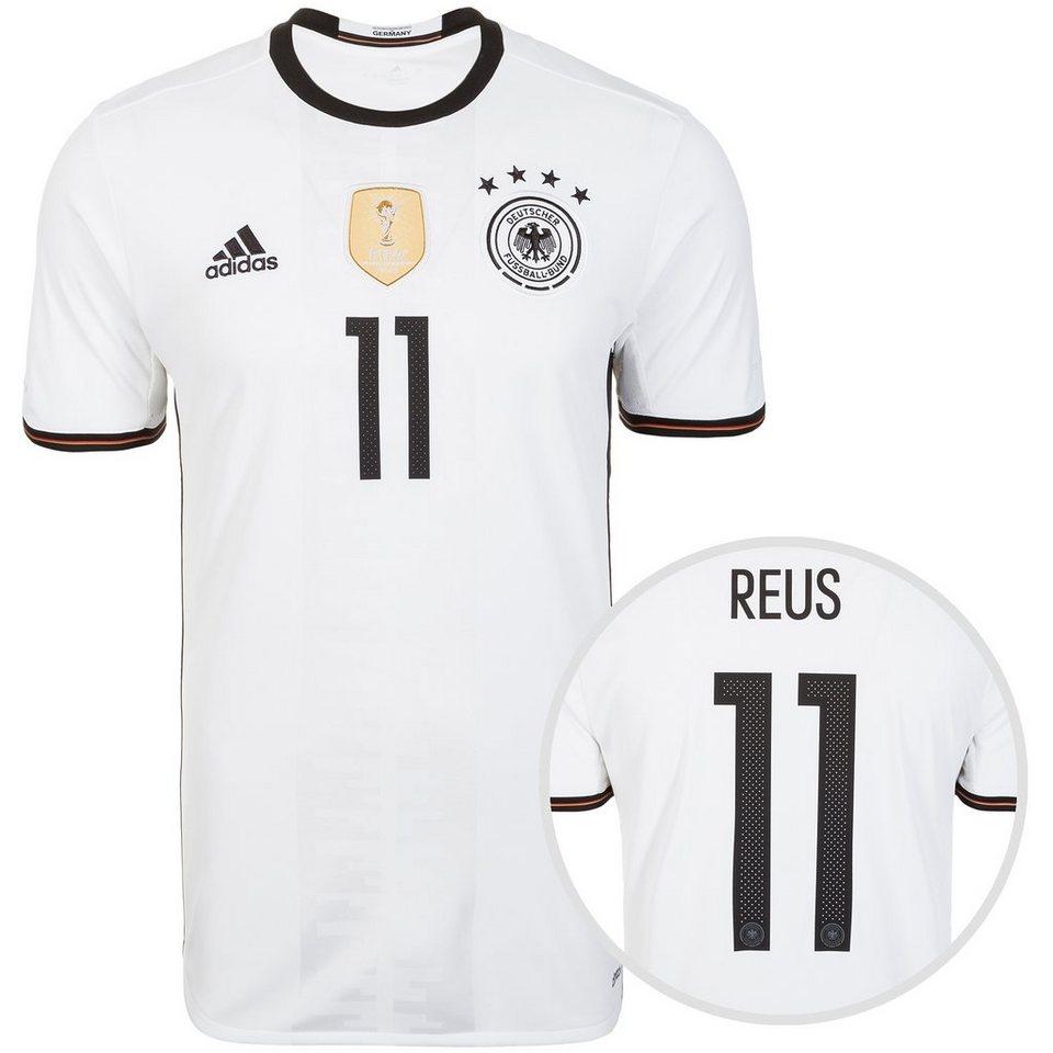 adidas Performance DFB Trikot Home Reus EM 2016 Herren in weiß / schwarz