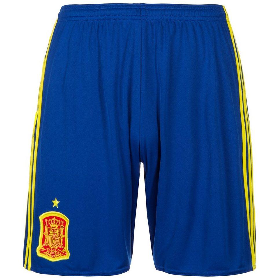 adidas Performance Spanien Short Home EM 2016 Herren in blau / gelb