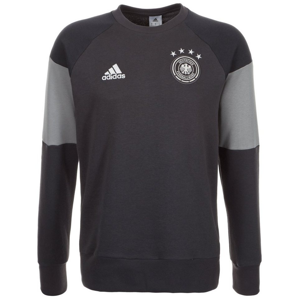 adidas Performance DFB Trainingssweat EM 2016 Herren in grau