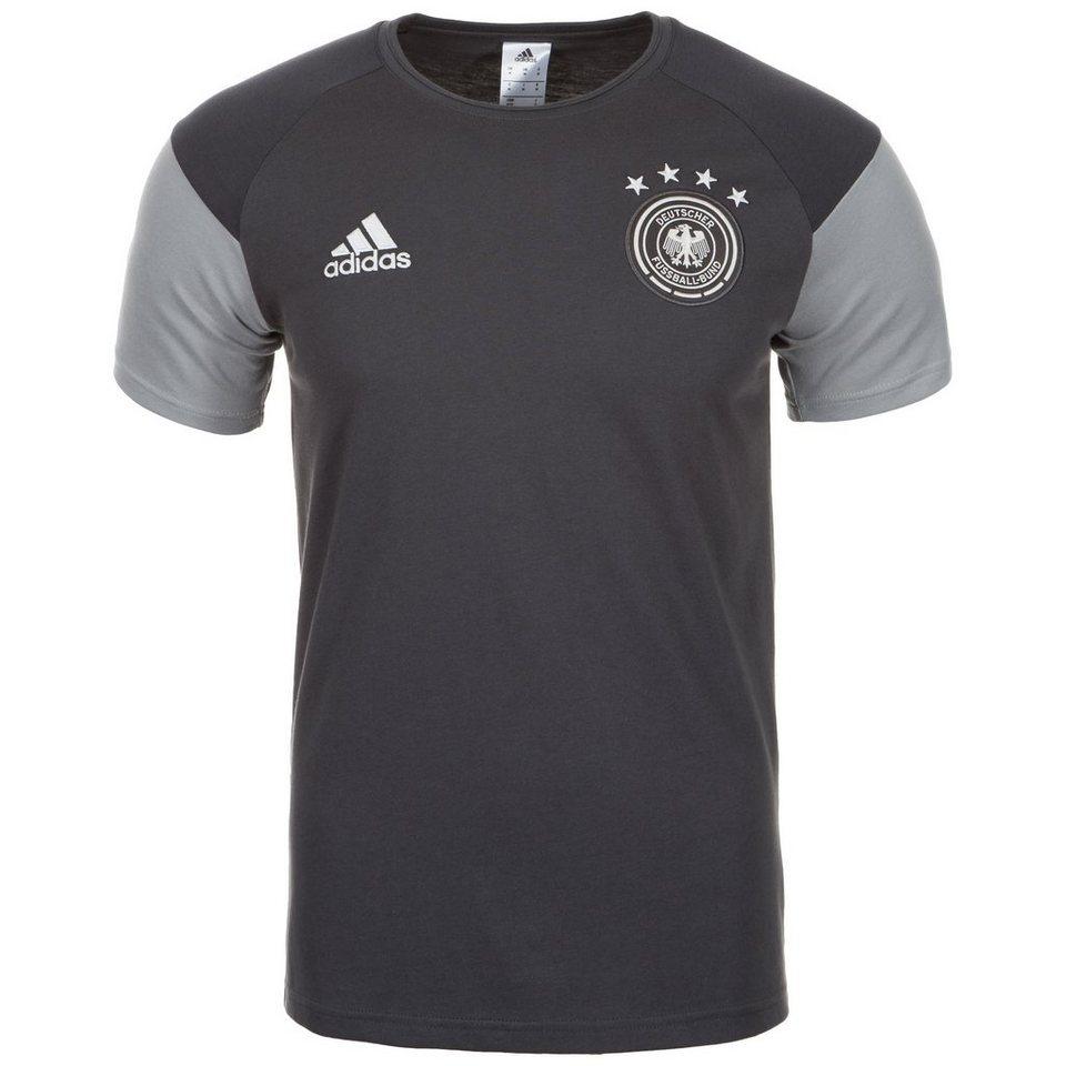 adidas Performance DFB Play Trainingsshirt EM 2016 Herren in grau