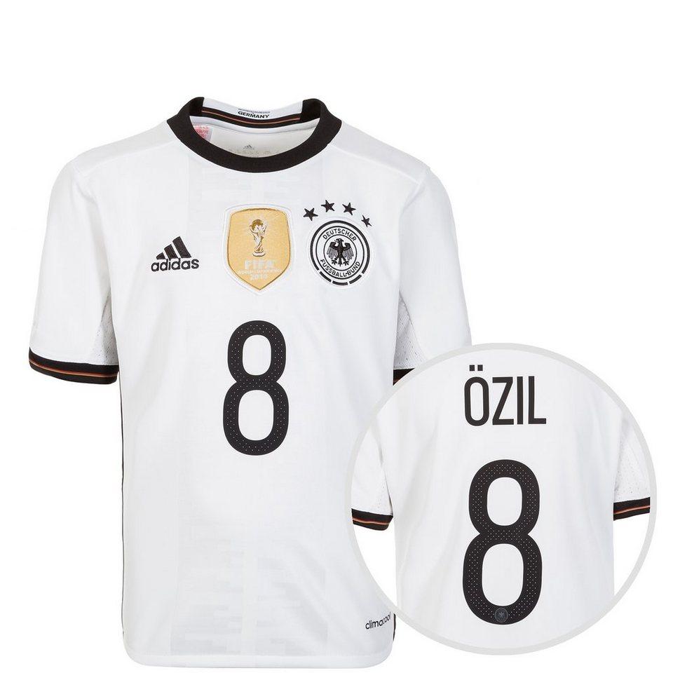 adidas Performance DFB Trikot Home Özil EM 2016 Kinder in weiß / schwarz