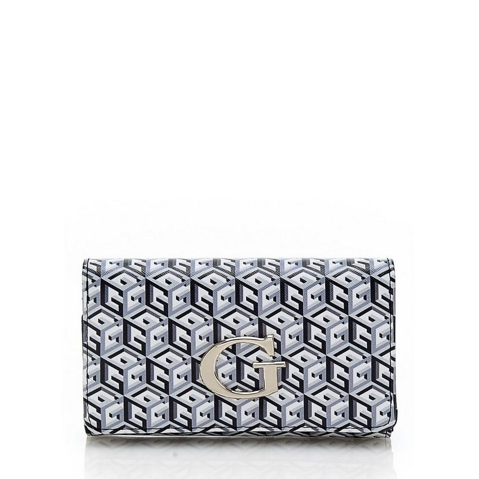 Guess Schlüsselanhänger G Cube in Schwarz