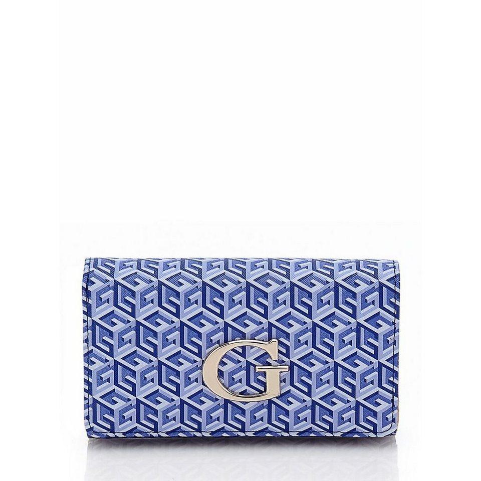 Guess Schlüsselanhänger G Cube in Blau