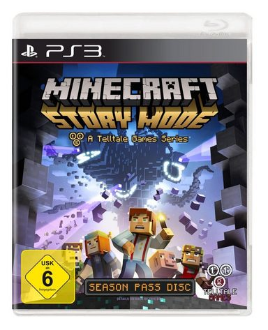 telltale games playstation 3 spiel minecraft story. Black Bedroom Furniture Sets. Home Design Ideas