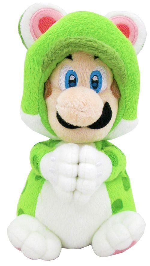 Together+ Fanartikel »Nintendo Plüschfigur Luigi Katze Handmagnet (19cm)«