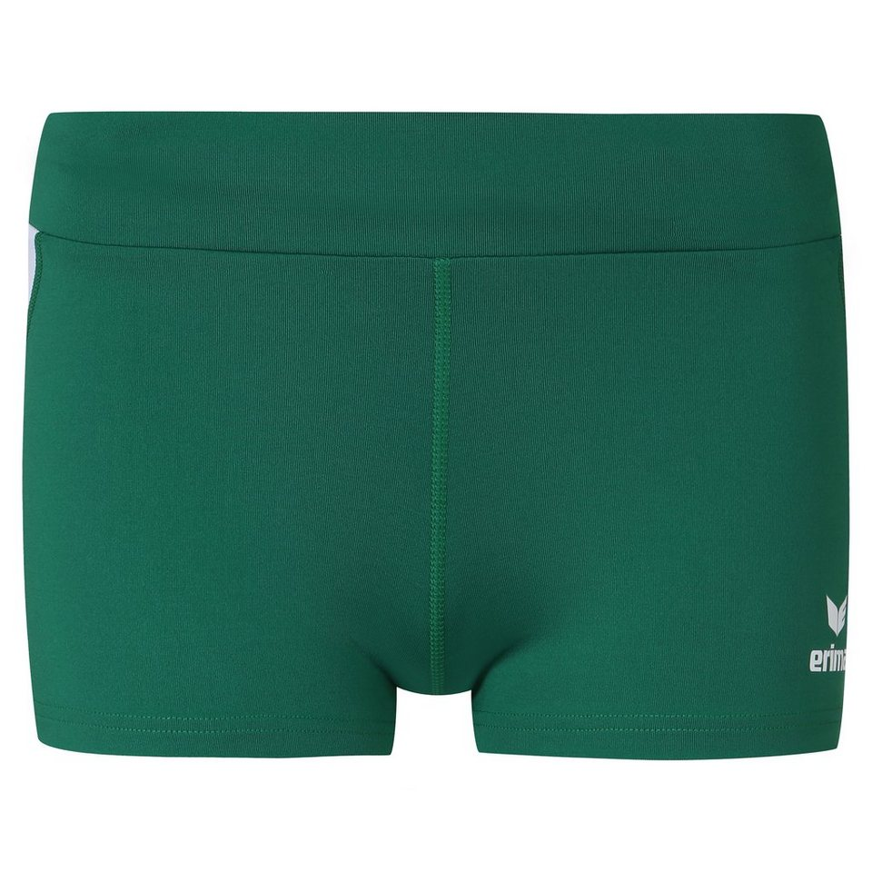 ERIMA Hot Pant Trainingsshort Damen in smaragd/weiß