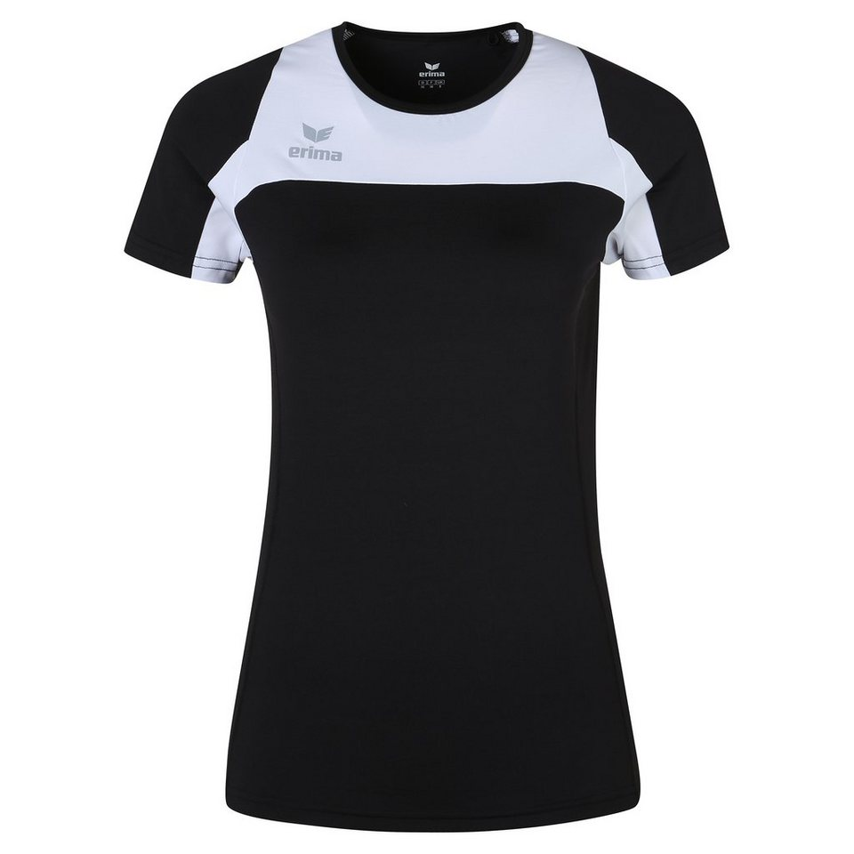 ERIMA Race Line Running T-Shirt Damen in schwarz/weiß