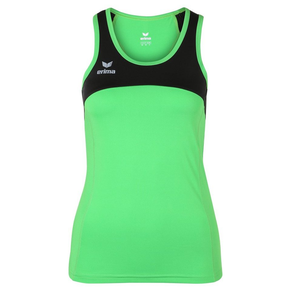 ERIMA Race Line Running Singlet Damen in green/schwarz