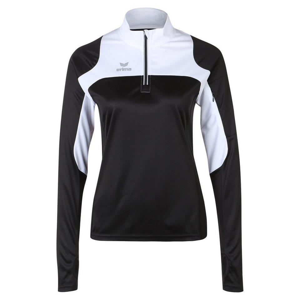 ERIMA Race Line Running Longsleeve Damen in schwarz/weiß