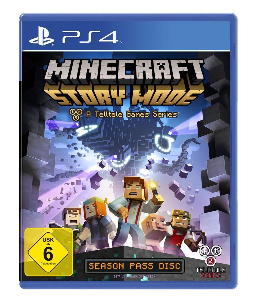 Telltale Games Playstation 4 - Spiel »Minecraft: Story Mode«