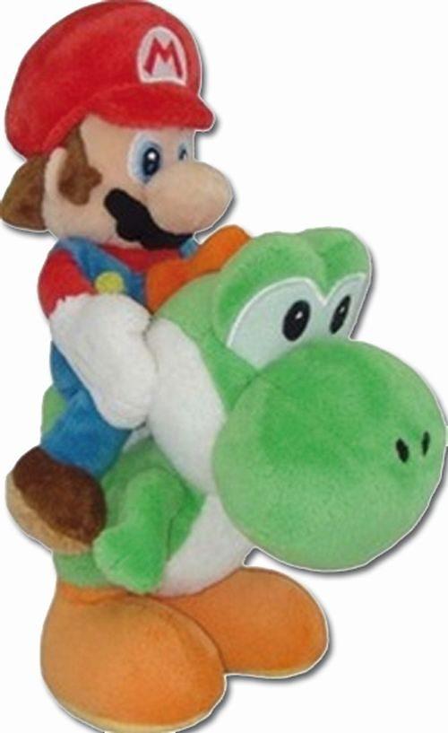 Together+ Fanartikel »Nintendo Plüschfigur Mario auf Yoshi reitend(22cm)«