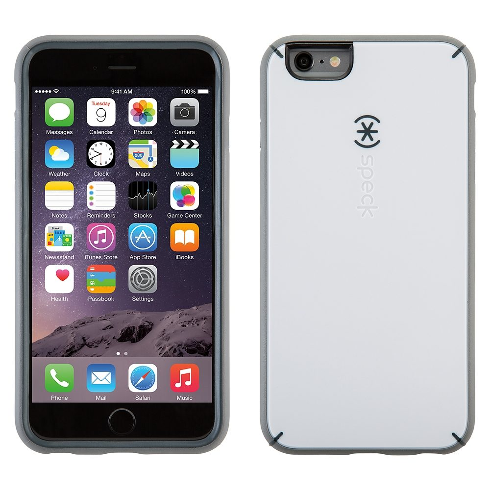 "Speck HardCase »MightyShell iPhone (6/6S) Plus 5.5"" White/Charcoal«"