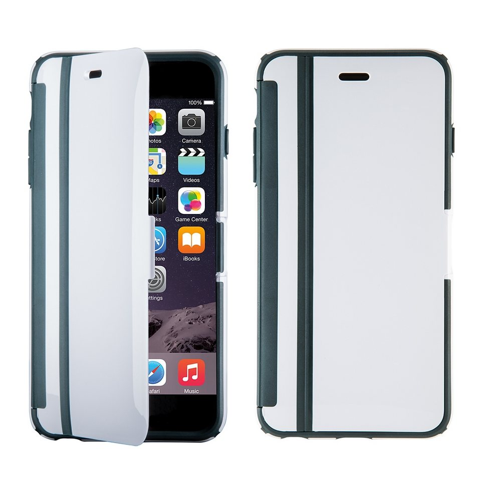 "Speck HardCase »CandyShell Wrap iPhone (6/6S) Plus 5.5"" White/Char« in weiss"