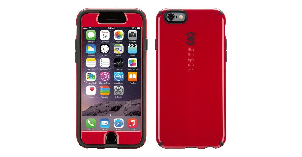 """Speck HardCase »CandyShell FacePlate iPhone (6) 4.7"""" Pomodoro Red/«"""