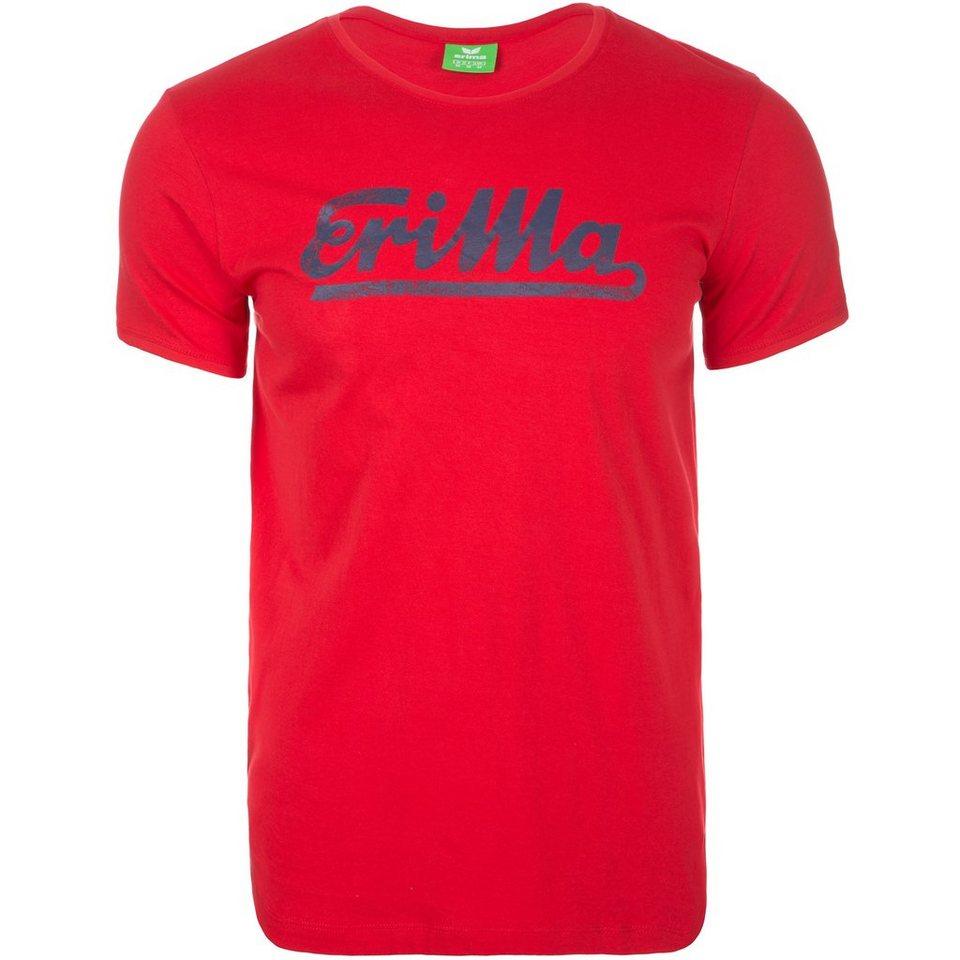 ERIMA Retro T-Shirt Herren in rot/new navy