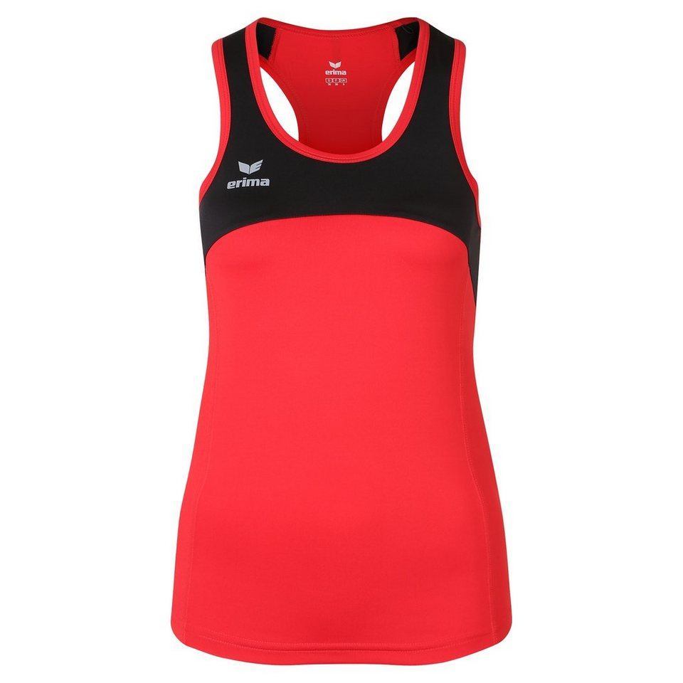ERIMA Race Line Running Singlet Damen in rot/schwarz