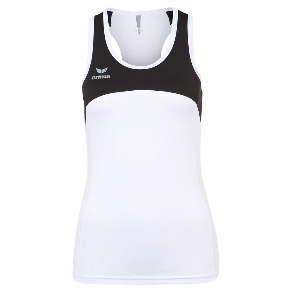 ERIMA Race Line Running Singlet Damen in weiß/schwarz
