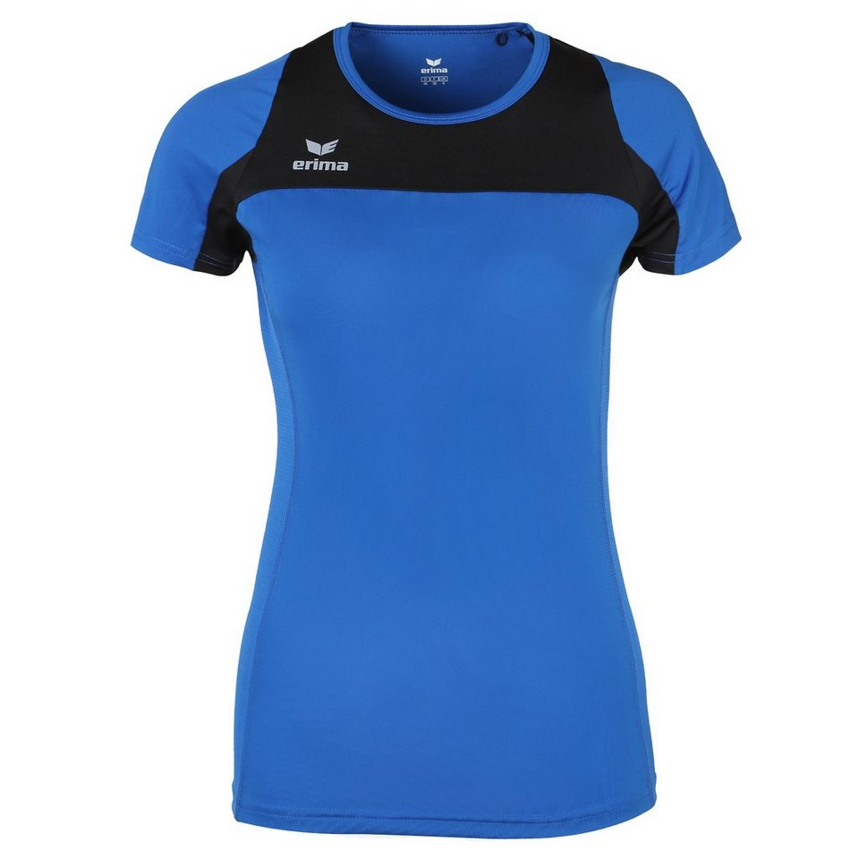 ERIMA Race Line Running T-Shirt Damen in new royal/schwarz