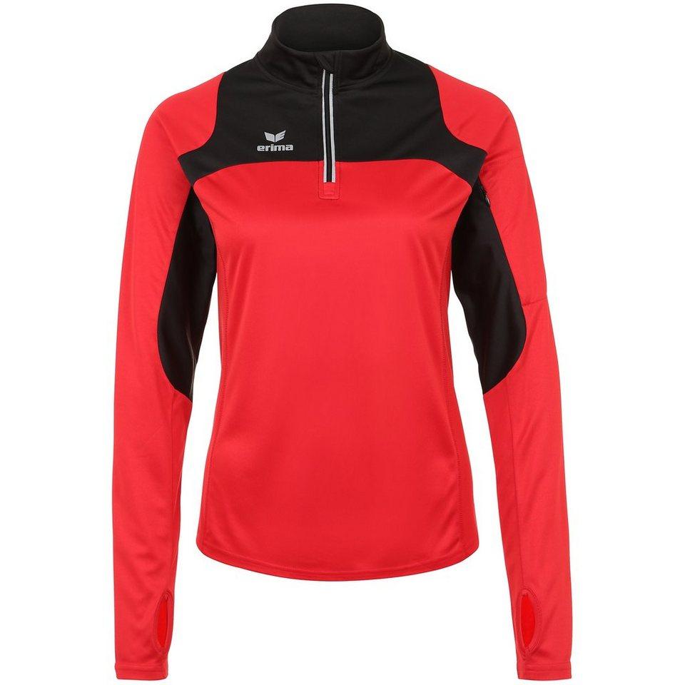 ERIMA Race Line Running Longsleeve Damen in rot/schwarz