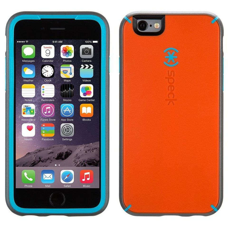 speck hardcase mightyshell iphone 6 6s 4 7 carrot orange speck online kaufen otto. Black Bedroom Furniture Sets. Home Design Ideas