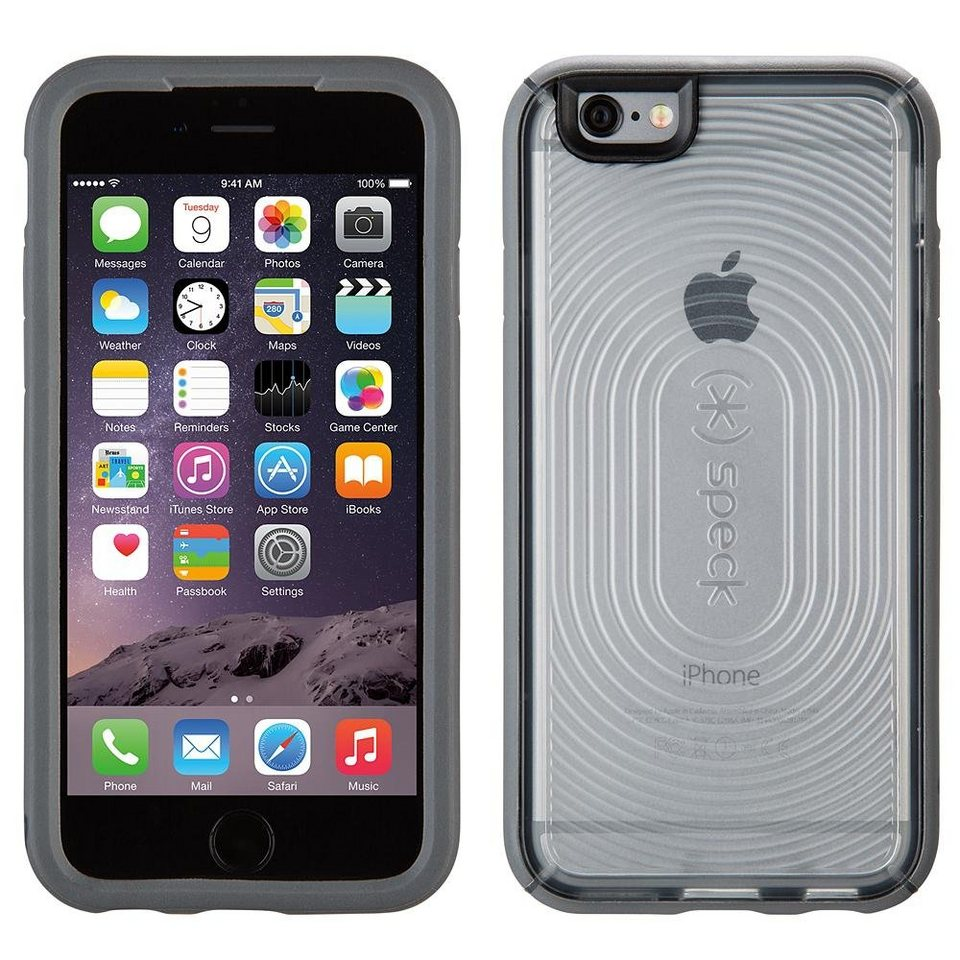 """Speck HardCase »MightyShell iPhone (6/6S) 4.7"""" Clear Clear/Clear/S« in grau"""