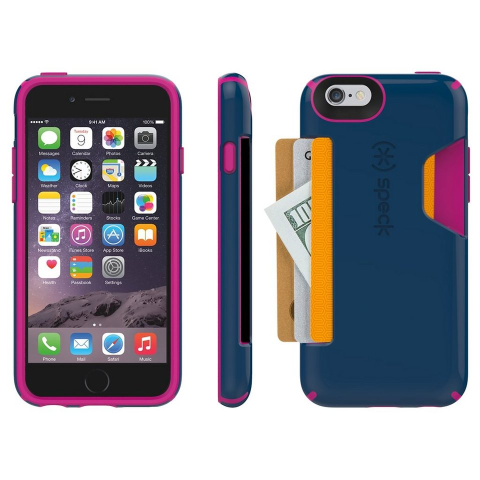 "Speck HardCase »CandyShell Card iPhone (6/6S) 4.7"" Deep Sea Blue/L« in blau"