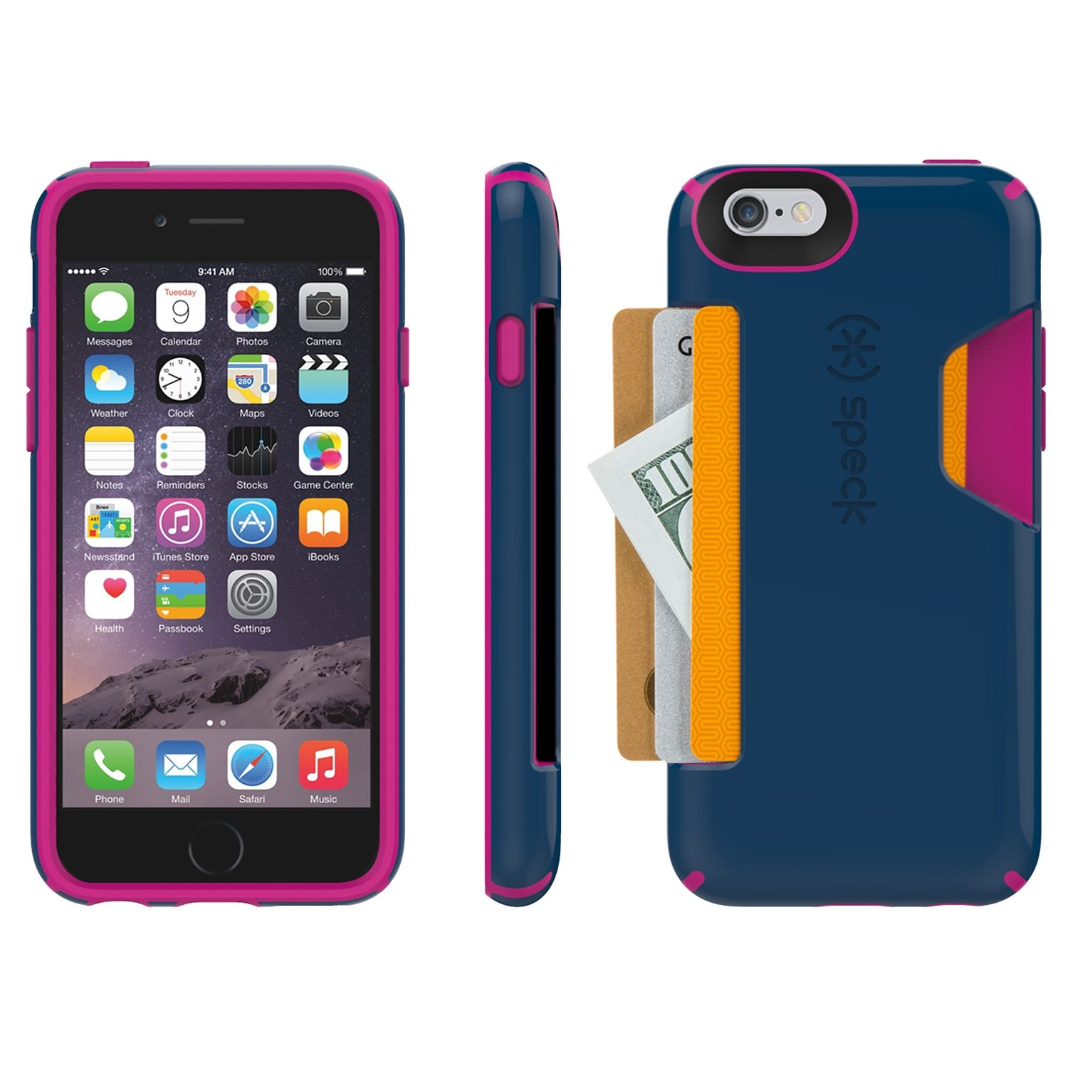 "Speck HardCase »CandyShell Card iPhone (6/6S) 4.7"" Deep Sea Blue/L«"