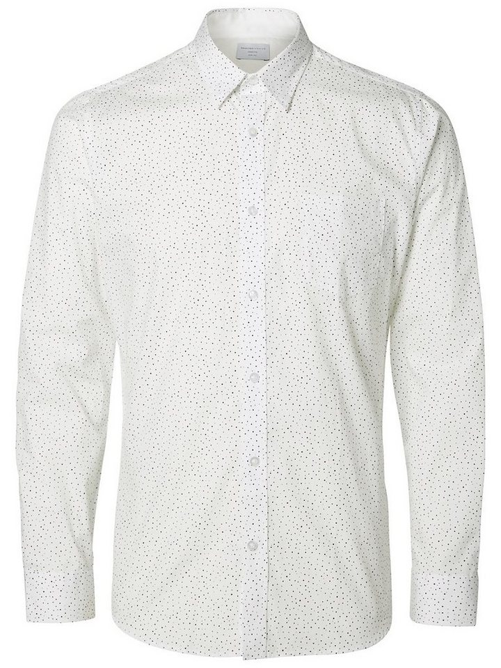 Selected Slim-Fit- Businesshemd in Bright White