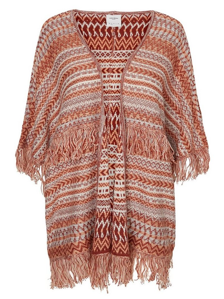 Vero Moda LooseFit StrickCardigan in Henna