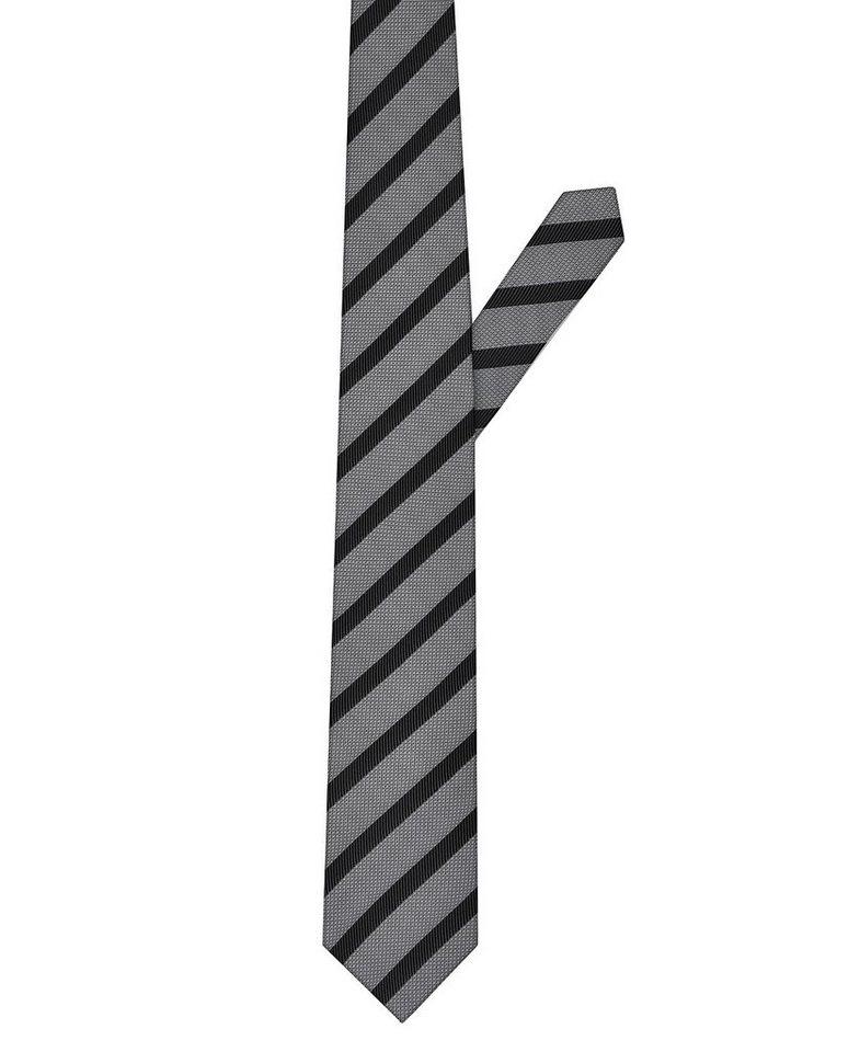 ETERNA Krawatte »breit« in schwarz