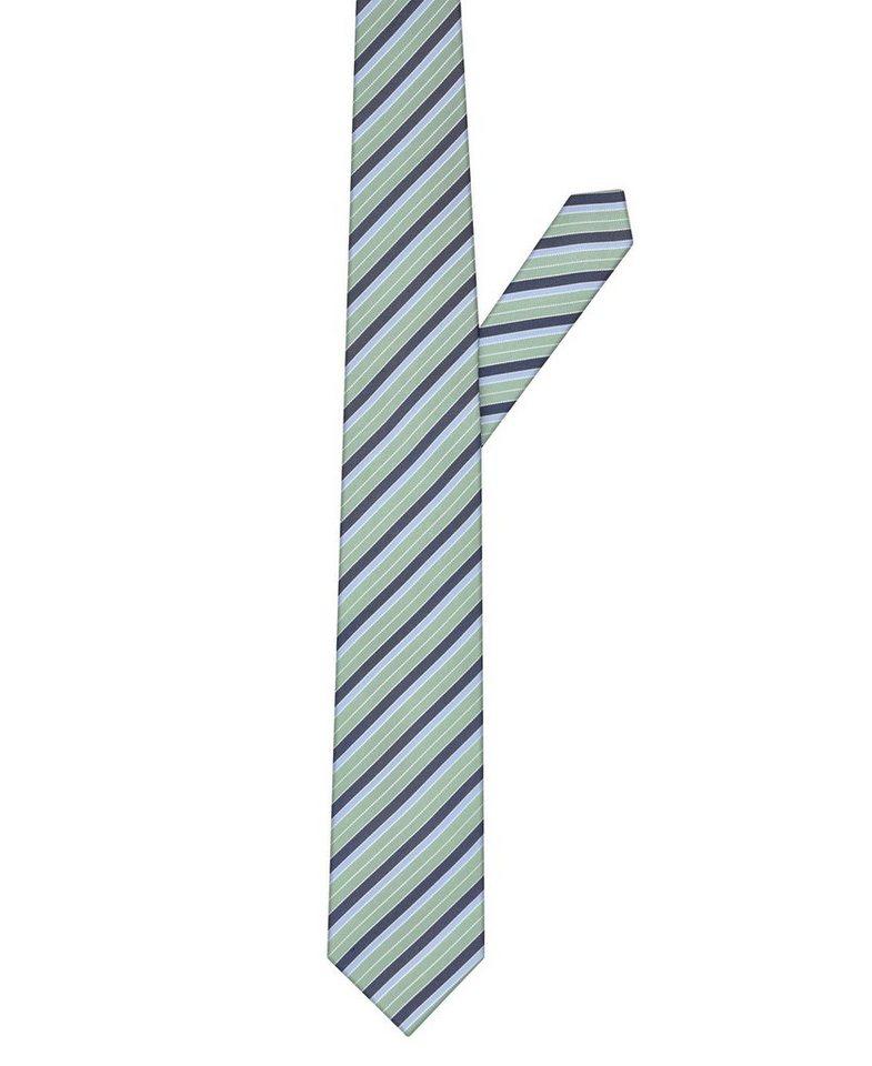 ETERNA Krawatte »breit« in gruen